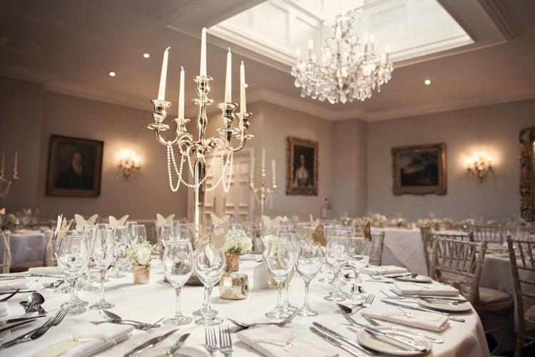 Candleabras Classic Chic Simple Elegant Champagne Wedding Kent http://kerryannduffy.com/