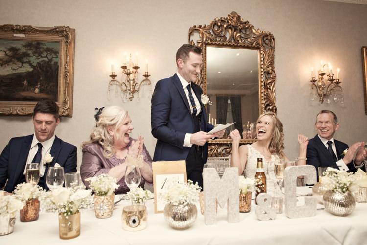Classic Chic Simple Elegant Champagne Wedding Kent http://kerryannduffy.com/