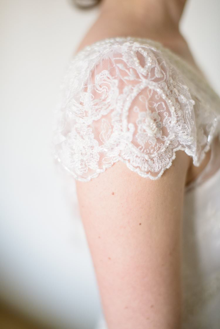 Capped Sleeve Bride Gown Dress Sparkle Classic 1920s Gatsby Wedding Newland Hall http://www.fayecornhillphotography.co.uk/