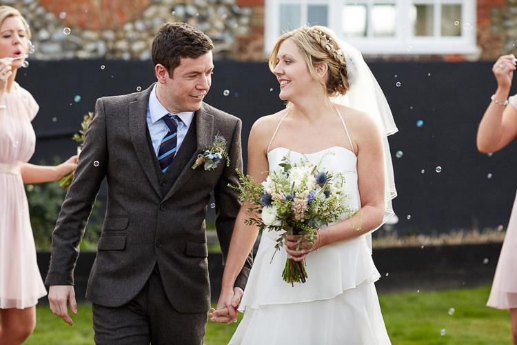 Bubbles Confetti Quaint Rustic Seaside Windmill Wedding Norfolk http://www.fullerphotographyweddings.co.uk/
