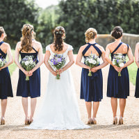 Relaxed BBQ Home Made Pretty Blue Barn Wedding http://parkershots.com/