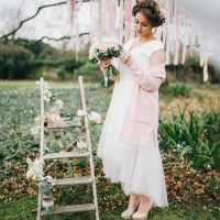 Pretty Pastel Pink Delicate Bridal Wedding Ideas http://jenmarino.com/