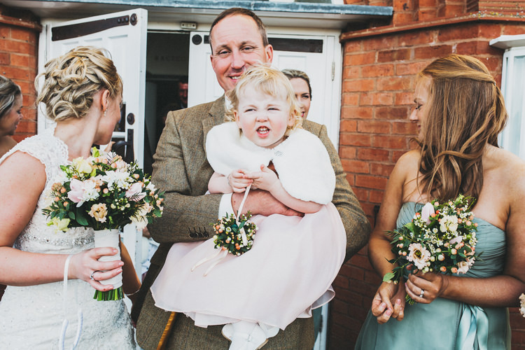 Flowergirl Pretty Spring Country Rustic Wedding Northamptonshire Racecourse http://www.frankee-victoria.co.uk/