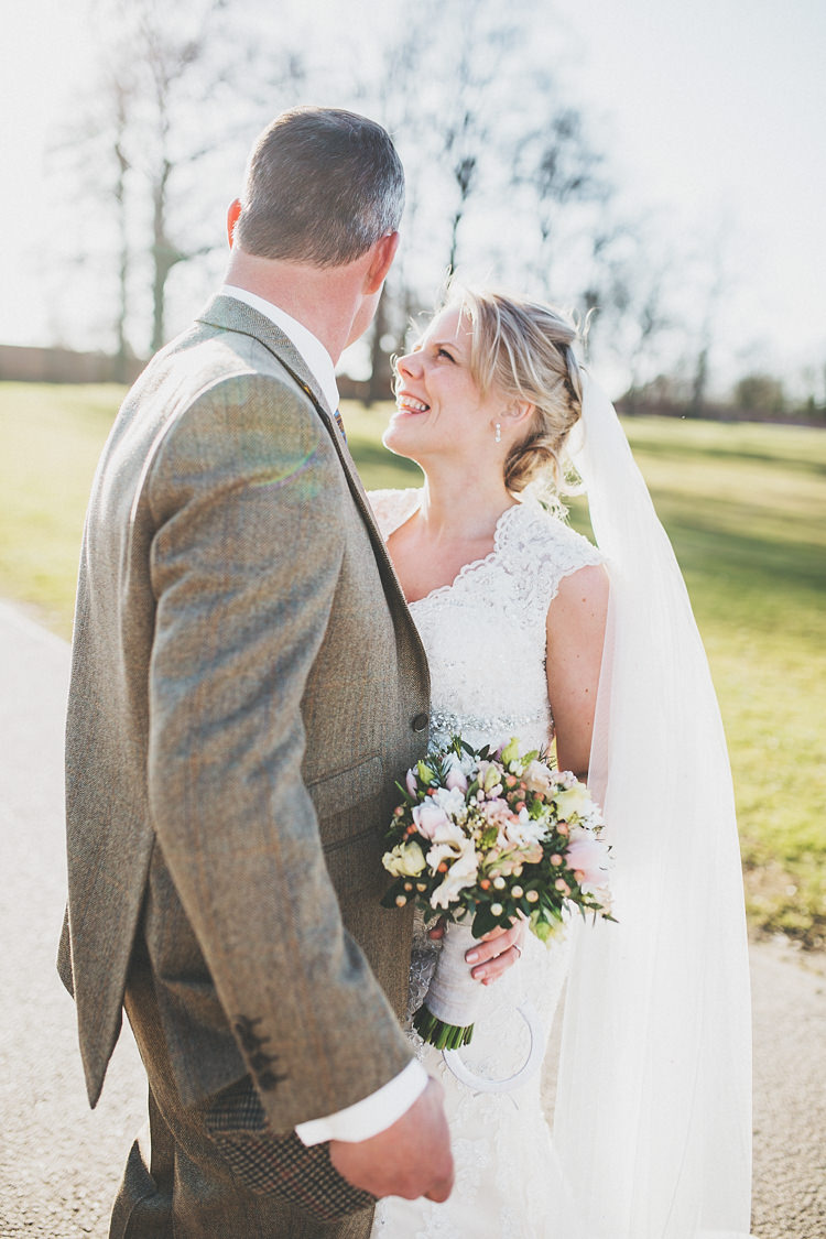 Pretty Spring Country Rustic Wedding Northamptonshire Racecourse http://www.frankee-victoria.co.uk/