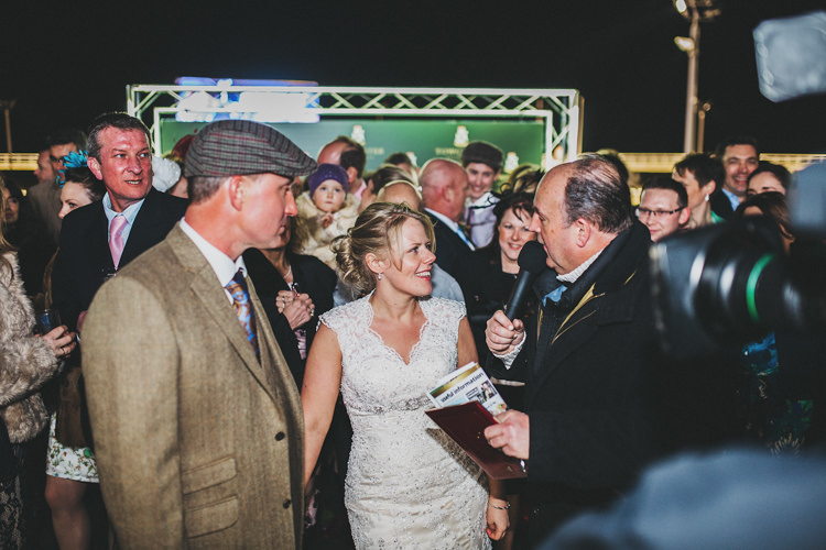Live TV Sky Pretty Spring Country Rustic Wedding Northamptonshire Racecourse http://www.frankee-victoria.co.uk/