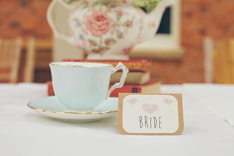 Tea Cup Place Names Setting Relaxed Hy Clic Pink Afternoon Wedding Http