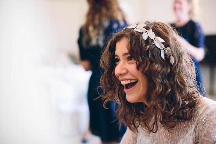 Vine Leaf Hair Piece Accessory Bride Bridal Cotswolds Barn Laid Back Stylish Wedding http://albertpalmerphotography.com/
