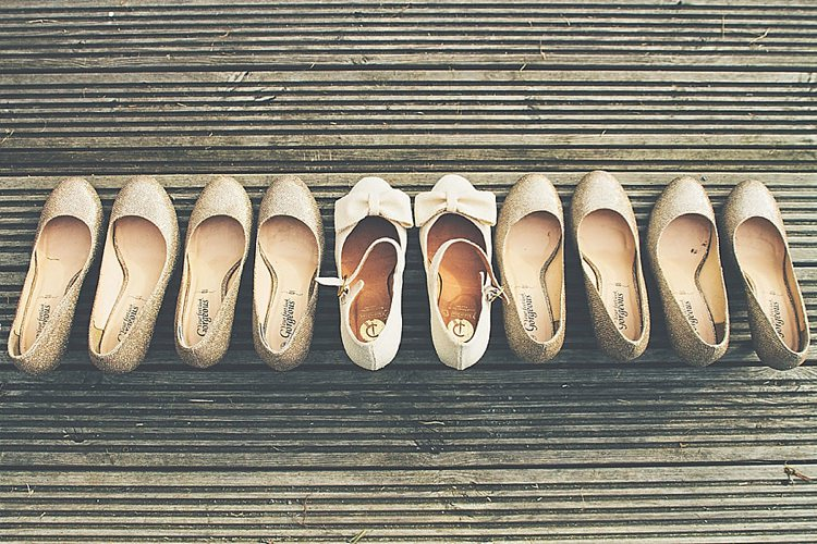 Glitter Bow Shoes Bride Bridesmaid Rainbow Railway Vintage 1950s Home Made Wedding http://www.jessicawitheyphotography.com/
