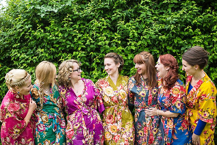 Colourful Happy Home Made Countryside Barn Wedding | Whimsical ...