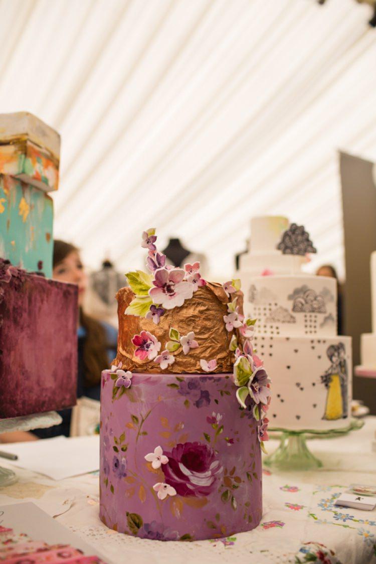 Nevie Pie Cakes Metallic Floral Tie The Knot Wedding Carnival Hertfordshire Fair Event http://www.binkynixon.com/
