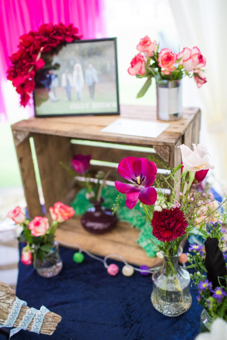 Crate Flowers Tie The Knot Wedding Carnival Hertfordshire Fair Event http://www.binkynixon.com/