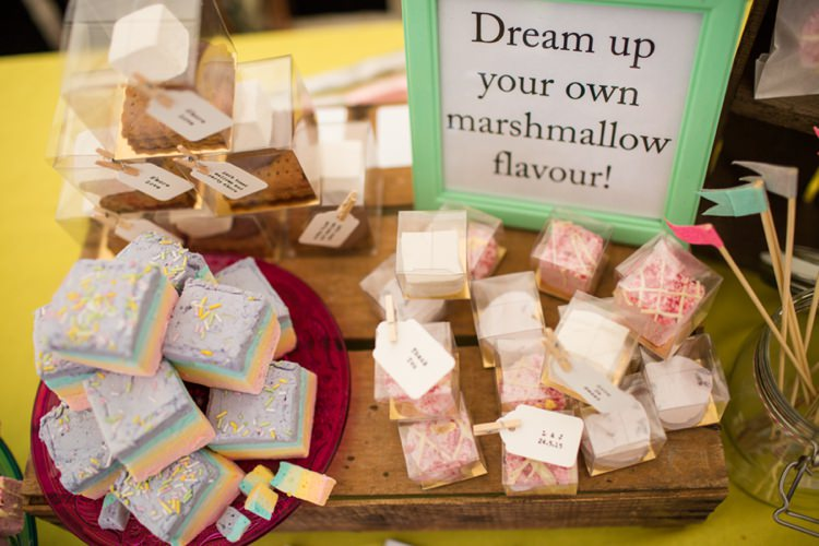 Marshmallows Tie The Knot Wedding Carnival Hertfordshire Fair Event http://www.binkynixon.com/