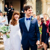 Relaxed Vintage & Spring Blue Wedding in London