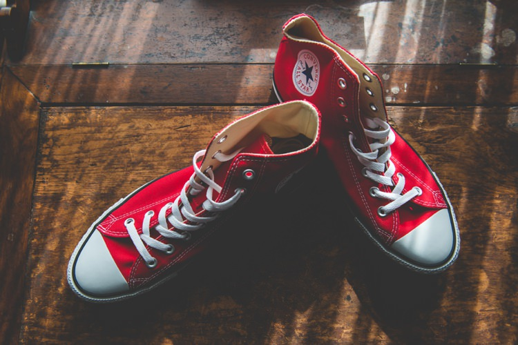 Converse Quirky Red Outdoor Multicultural Chinese Tea Ceremony Wedding  http://www.bgproonline.com/