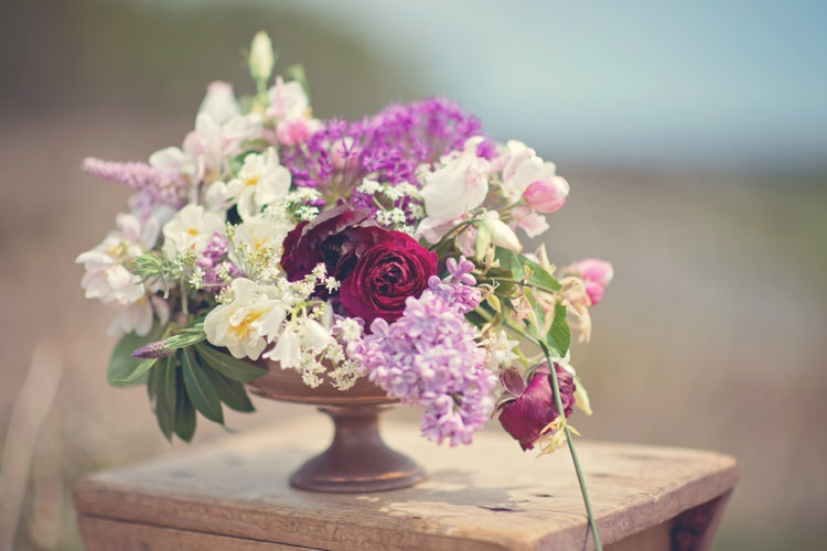 Whimsical Arrangement Pink Red White Beautiful British Flower Peak District Moors Wedding Ideas http://www.sarahbrabbin.co.uk/