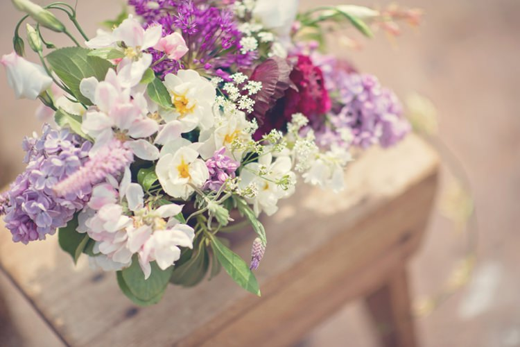 Beautiful British Flower Peak District Moors Wedding Ideas http://www.sarahbrabbin.co.uk/