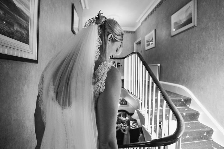 Lace Edge Veil Bride Bridal Hair Beautiful English Garden Blooms Marquee Wedding http://www.sansomphotography.co.uk/