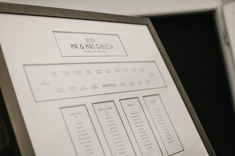 Table Plan Stationery Beautiful English Garden Blooms Marquee Wedding http://www.sansomphotography.co.uk/