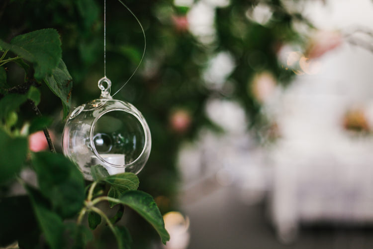 Candles Tealights Trees Beautiful English Garden Blooms Marquee Wedding http://www.sansomphotography.co.uk/