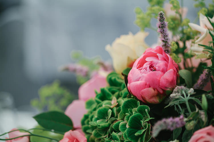 Pink Peonies Beautiful English Garden Blooms Marquee Wedding http://www.sansomphotography.co.uk/
