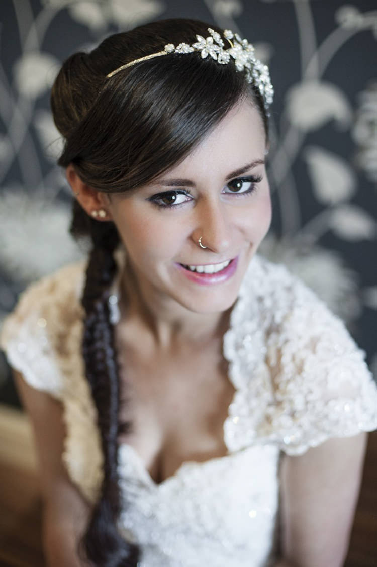 Pink Make Up Bride Bridal Beauty Pretty Village Fete Floral Museum Cardiff Wedding http://eleanorjaneweddings.co.uk/