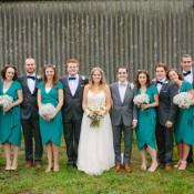 Quaint & Home Made Big Party Farm Wedding