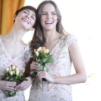 Vintage Embellished Bridesmaid Dresses Pastel Mismatched Rock My Vintage