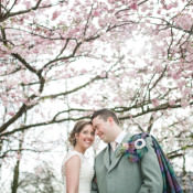 Soft Romantic & Pretty Spring Blossom Wedding