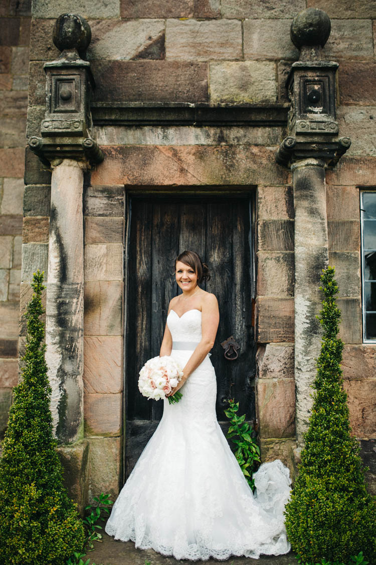 Fishtail Lace Dress Sweetheart Bride Bridal Mon Cheri David Tutera Happy Relaxed Modern Meets Traditional Countryside Wedding http://rachelryanphotography.co.uk/