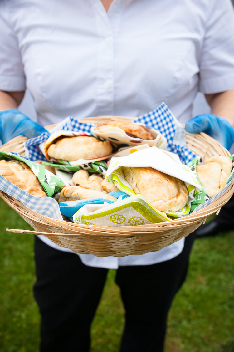 Pasties Food Relaxed Fun Home Made Back Garden Wedding http://www.rabbitandporkphotography.com/