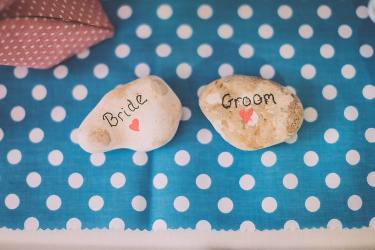Pebble Place Names Brighton Rocks Vintage 1950s Kiss Me Quick Red White Blue Wedding http://www.neilwilliamshaw.co.uk/