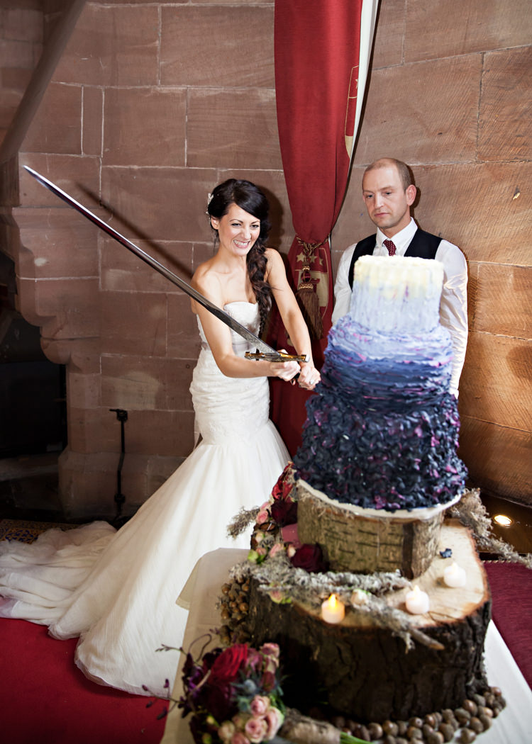 Dramatic & Rich Rustic Harry Potter Inspired Wedding ...
