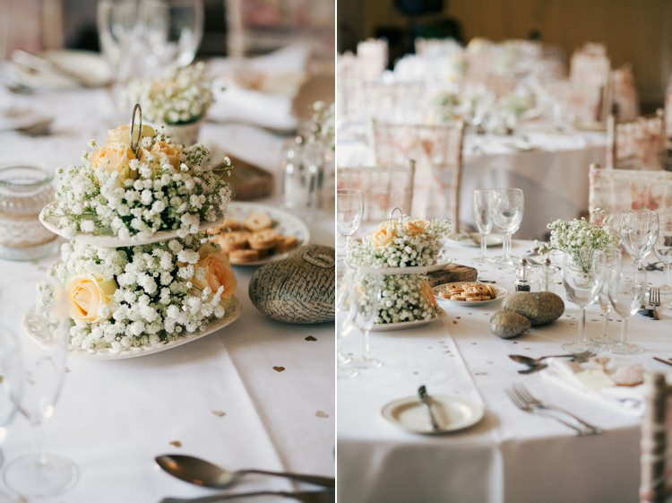 Whimsical Peach Afternoon Tea Party Wedding Clairemacintyre