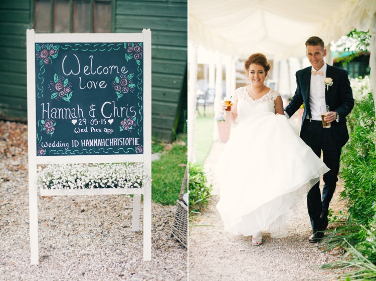Whimsical Peach Afternoon Tea Party Wedding http://clairemacintyre.com/