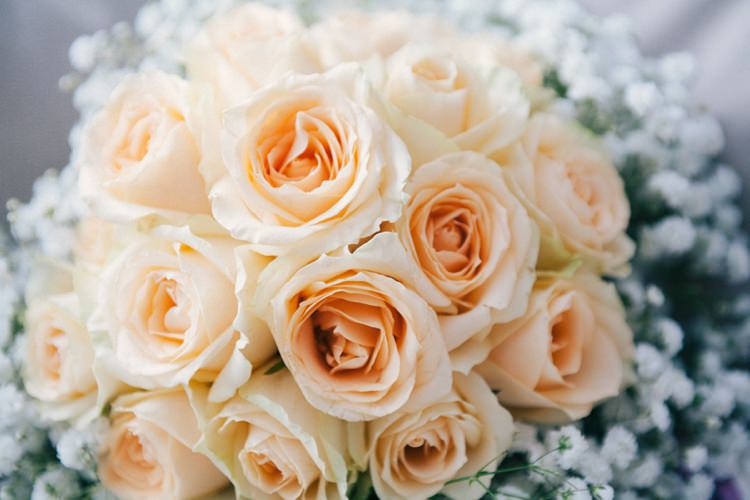 Roses Whimsical Peach Afternoon Tea Party Wedding http://clairemacintyre.com/