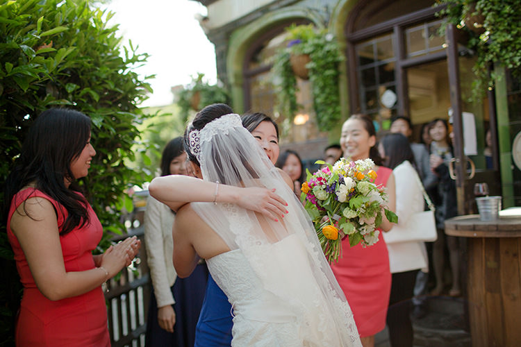 Vibrant Quirky Colourful Spring London Wedding http://www.ireneyapweddings.com/