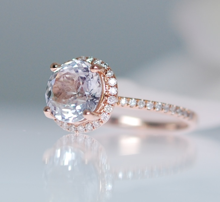 Beautiful Shire Rose Gold Engagement Rings By Eidel Precious