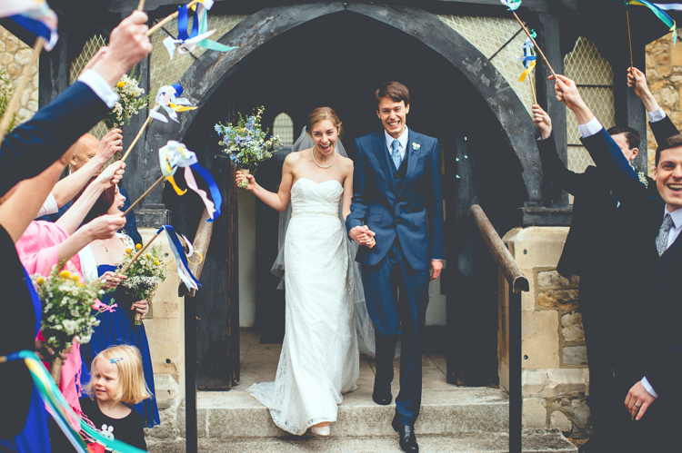 Stick Ribbons Confetti  Fun Enchantment Under The Sea Dance Blue London Wedding http://bigbouquet.co.uk/