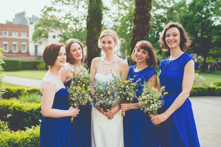 Bridesmaid Dresses Fun Enchantment Under The Sea Dance Blue London Wedding http://bigbouquet.co.uk/