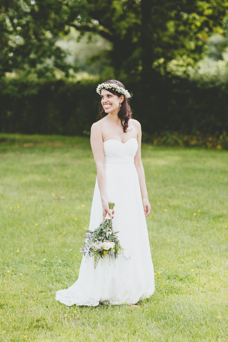Catherine Deane Dress Bride Bridal Gown Relaxed Fun Rustic Countryside Barn Wedding http://www.paulunderhill.com/