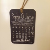 The Bride Diaries. Sophie's Save the Dates & Dress Shopping
