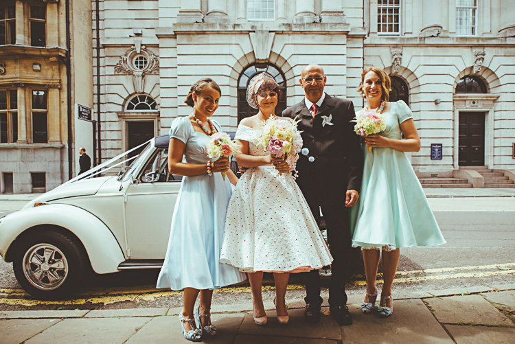 Dolly Dagger Prom Dresses Bridesmaids Retro 1950s Back Garden Vintage Pastel Seaside Wedding http://photo.shuttergoclick.com/