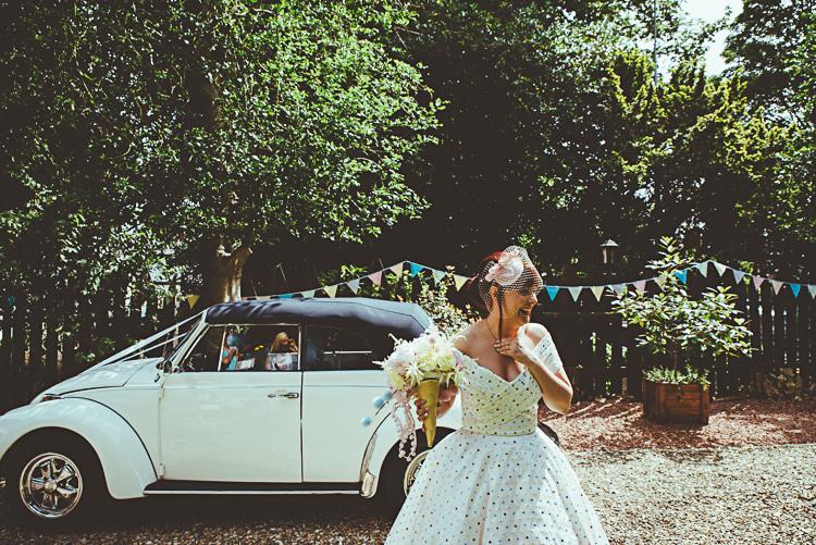 Back Garden Vintage Pastel Seaside Wedding http://photo.shuttergoclick.com/