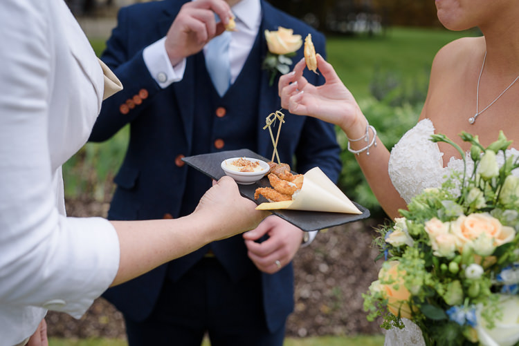 Canapes Pretty Natural Rustic Woodland Wedding http://riamishaal.com/