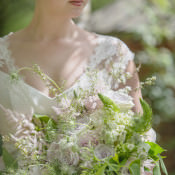 Quintessential English Elegant Soft Blush Blossom Wedding Ideas