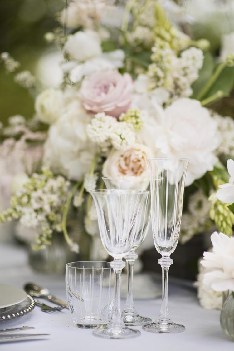 Glasses Quintessential English Elegant Soft Blush Blossom Wedding Ideas http://careysheffield.com/