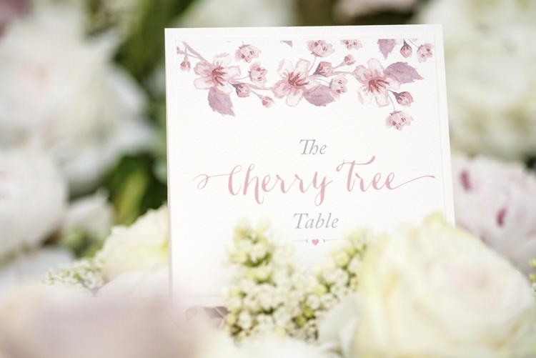 Quintessential English Elegant Soft Blush Blossom Wedding Ideas http://careysheffield.com/