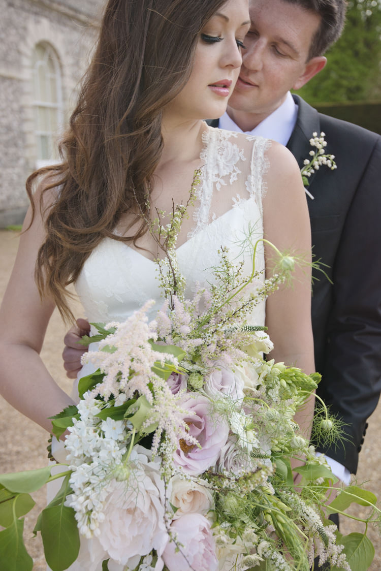 Astilbe Bouquet Flowers Bride Bridal Roses Peonies Quintessential English Elegant Soft Blush Blossom Wedding Ideas http://careysheffield.com/