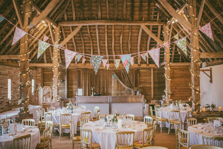 Barn Bunting Fairy Lights Personal Traditional Shabby Chic Pastel Pink Wedding Http Www
