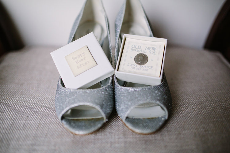 Silver Shoes Bride Bridal Rustic Country Garden Barn Yellow Navy Wedding http://hayleysavagephotography.co.uk/